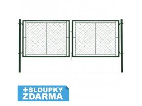 brana IDEAL Zn+PVC zelena