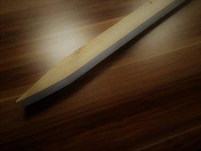 Modřínový kůl čtyřhranný 50x50x1800