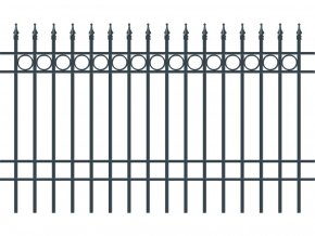 BRISTOL plotové pole, šířka 2000, výška 1000 mm