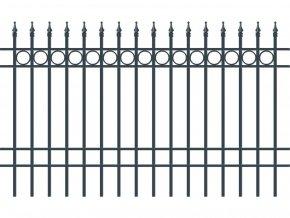 BRISTOL plotové pole, šířka 2000, výška 1200 mm