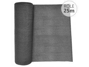 Stínící tkanina 100% - 230 g/m2 - role 25 m, barva ANTRACIT