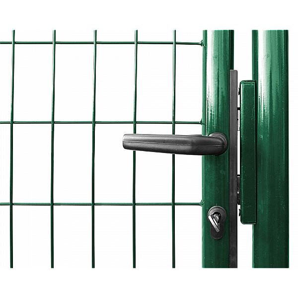 Branka SOLID š. 1073 mm x v. dle výběru, dózický zámek Zn+PVC zelená Šířka v mm:: 950 mm