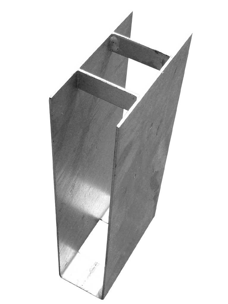 Stabilizační držák podhrabové desky průběžný výška 200 mm vč. texu
