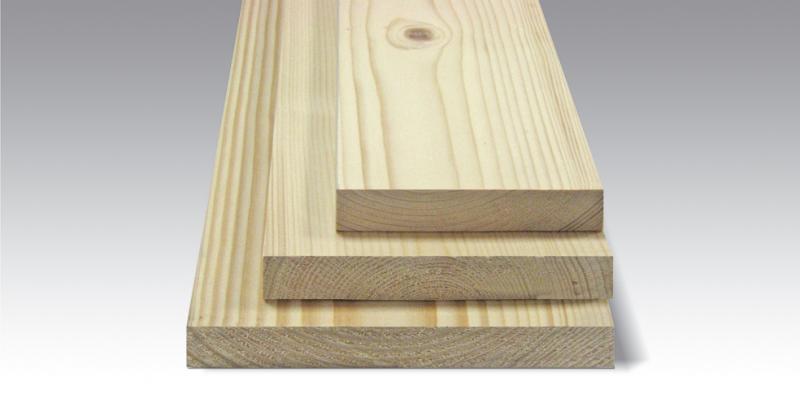 Smrková plotovka rovná 19x100 x na míru balení PLOTY | 1Kg