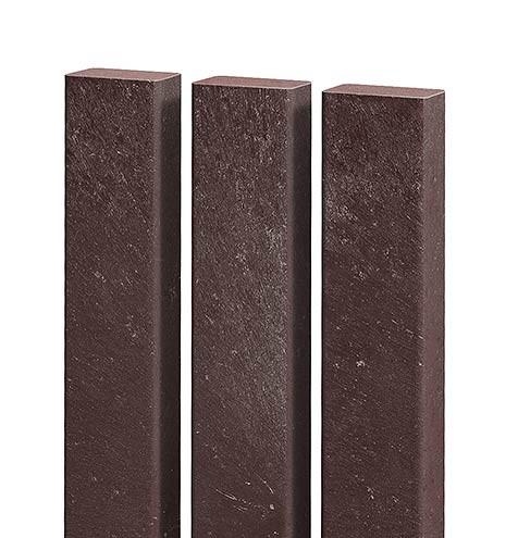 Recyklát plotovka 50x30 mm,různé délky, hnědá Délka v mm:: 1200 mm