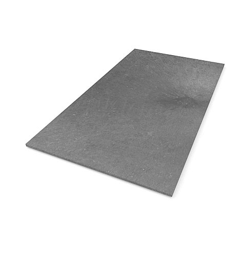 Recyklátová deska hladká 1500x800x17 mm, šedá