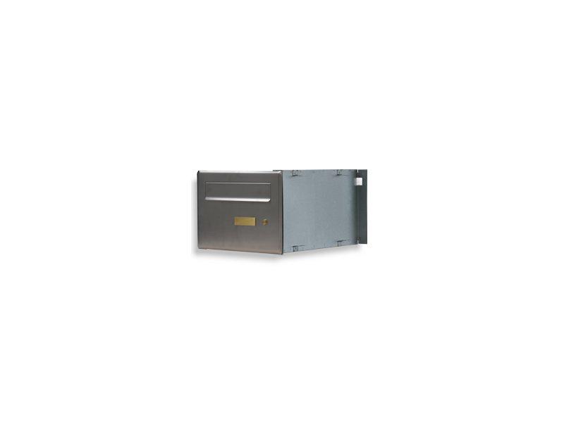 Poštovní schránka PSD-V 1xzvonek,1xjmenovka