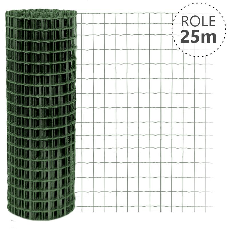 Pilonet Light Plus oko 75x100/2,1mm/25 m zelená, výška dle výběru Výška v mm:: 1000 mm, Délka role v m:: 25 m