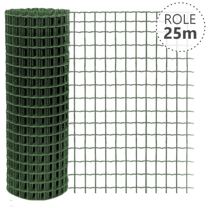 Pilonet Heavy oko 50x50/2,5mm/25 m zelené, výška dle výběru Výška v mm  1500 mm, Délka role v m  25 m
