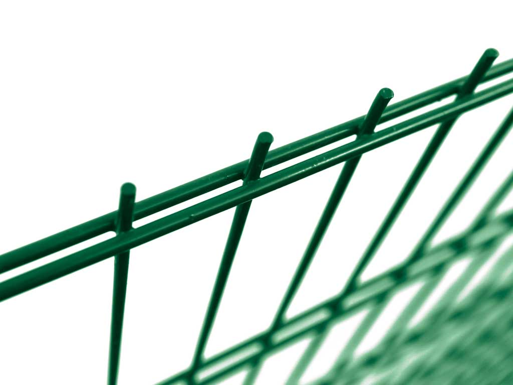 Pilofor 2D bez prolisu Super Strong Zn+PVC zelená/2x8 vod.+6 mm sv., výška dle výběru Výška v mm:: 1630