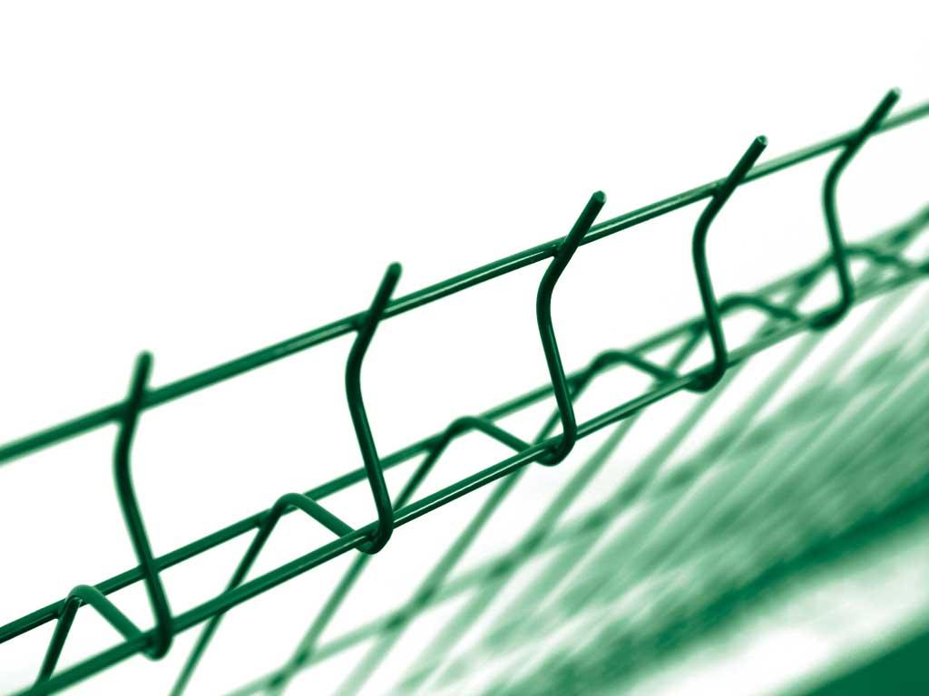 Pilofor 3D s prolisem Light Zn+ PVC zelená, oko 50x200/4 mm, výška dle výběru Výška v mm:: 1530