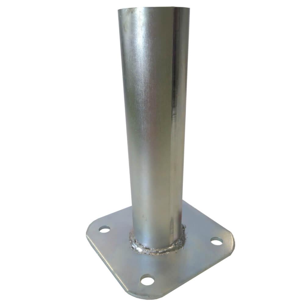 Patka s plotnou ke sloupku 48 mm Zn 0,91Kg