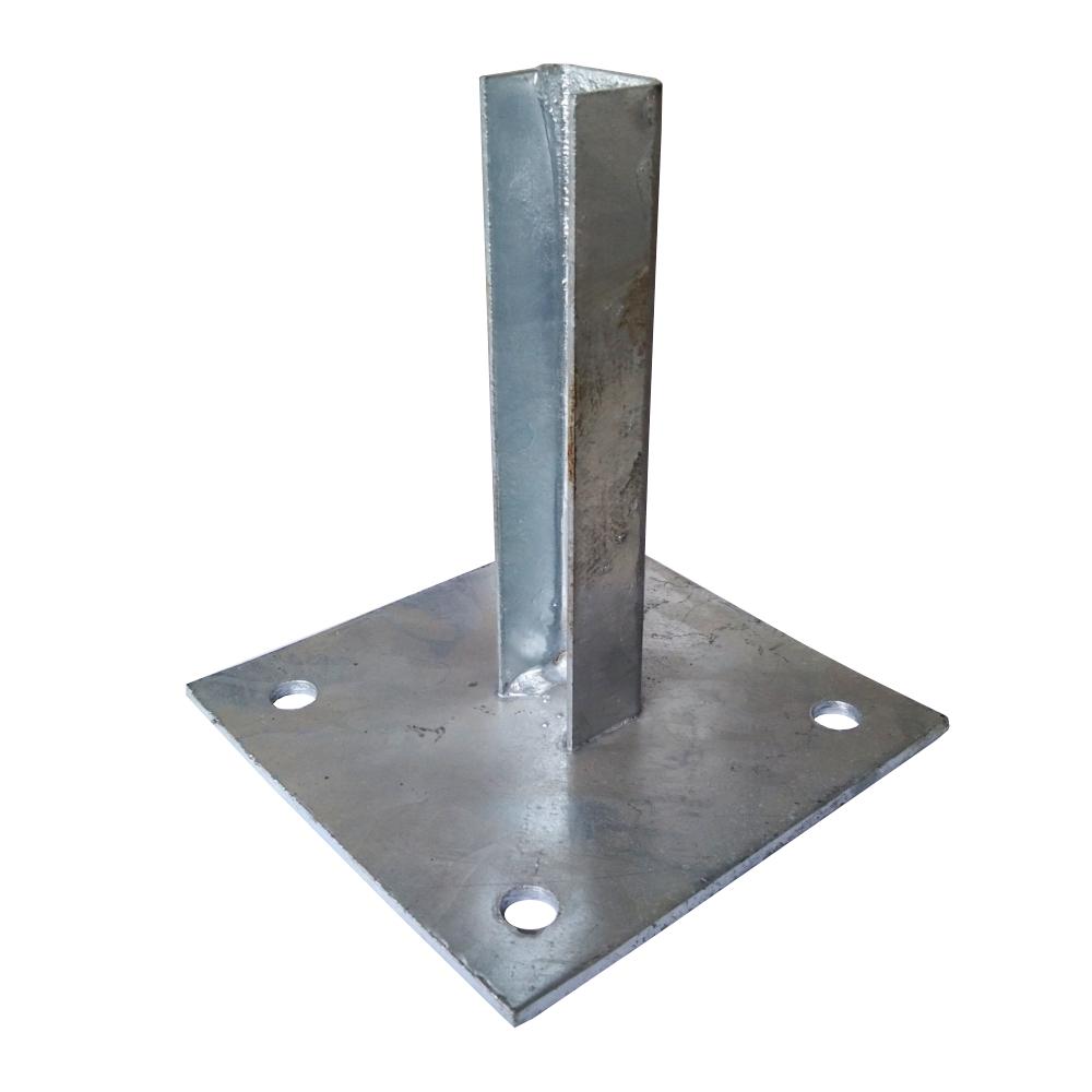 Patka s plotnou ke sloupku 38 mm Zn balení PLOTY | 0,87Kg