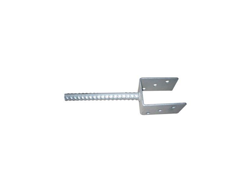 Patka pro ukotvení do betonu pro sloupek 80x80 Zn2Kg