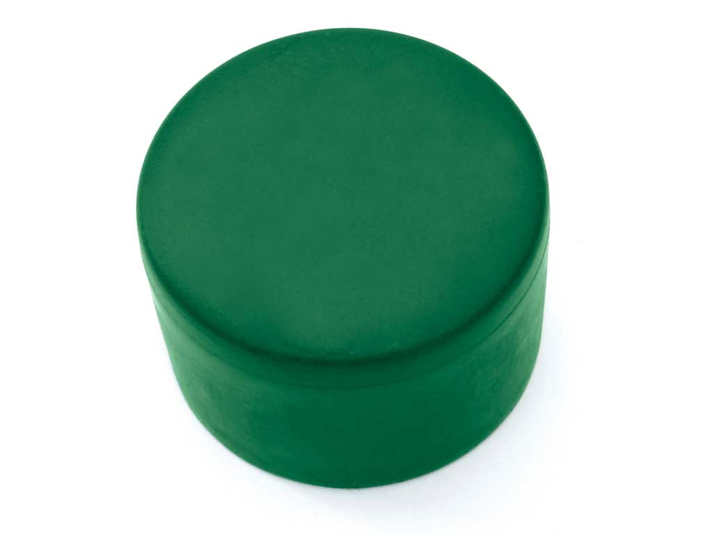 Klobouček sloupkový PVC 43 mm zelená0,02Kg