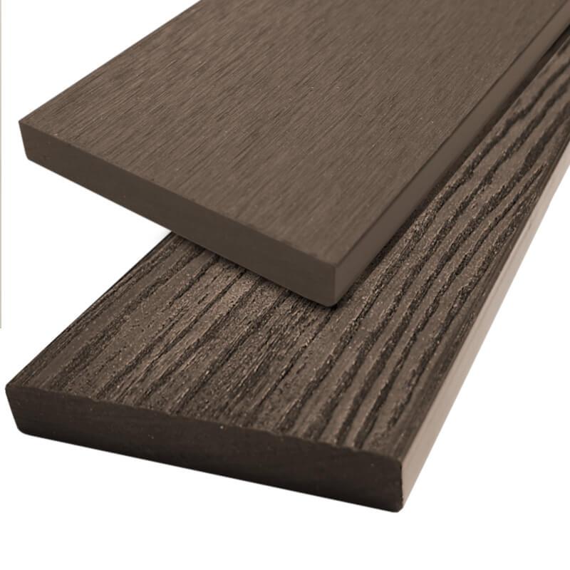 Dřevoplast WPC plotovka 85x13 mm, hladká, rovná, palisandr barva:: palisandr, Délka v mm: 1000 mm 4Kg