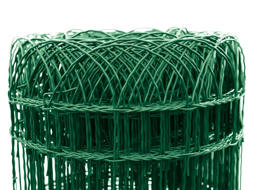 Pletivo Dekoran Zn+PVC, výška 1200mm, role 25m, barva zelená