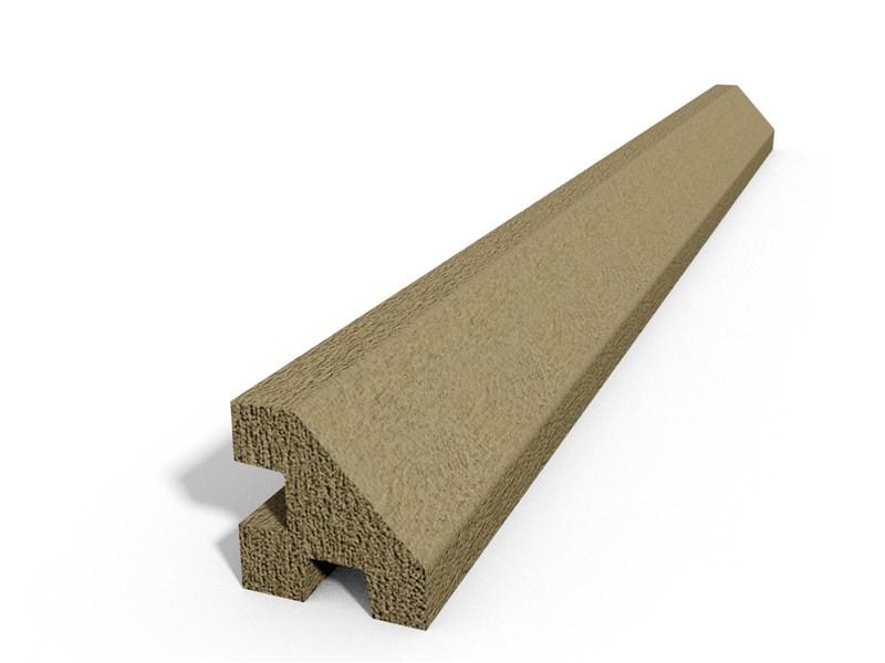 Betonový sloupek hladký rohový pískovec v. 1750 mm balení PLOTY   4Kg