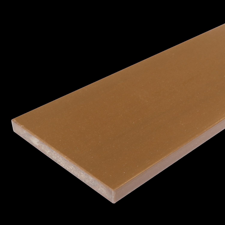 Everwood plotovka 70x10x na míru mm, rovná Barva: teak 4Kg