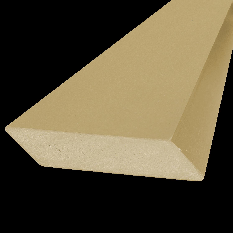 Everwood plotovka 75x15x na míru mm, šikmý hranol Barva: světlý dub 4Kg