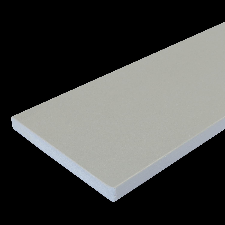 Everwood plotovka 100x20x na míru mm, rovná Barva: šedá světlá 4Kg