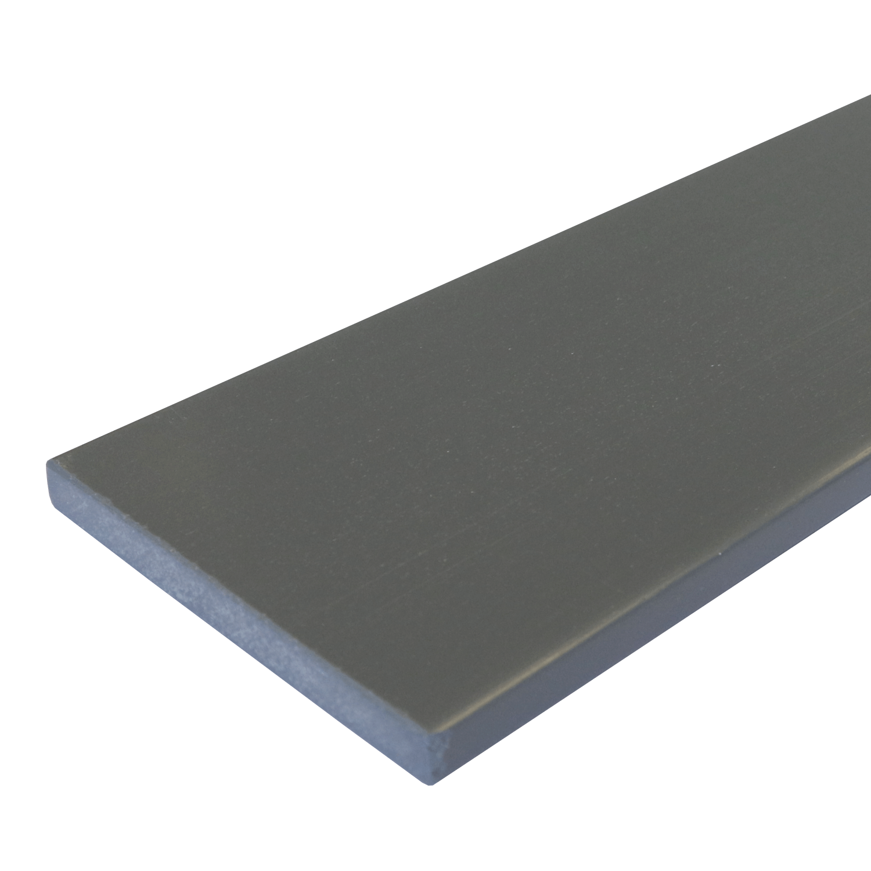 Everwood plotovka 100x20x na míru mm, rovná Barva: šedá tmavá 4Kg