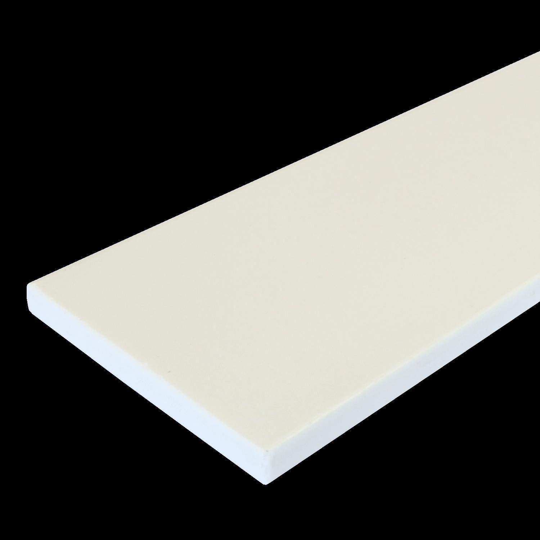 Everwood plotovka 150x20x na míru mm, rovná Barva: Bílá 4Kg