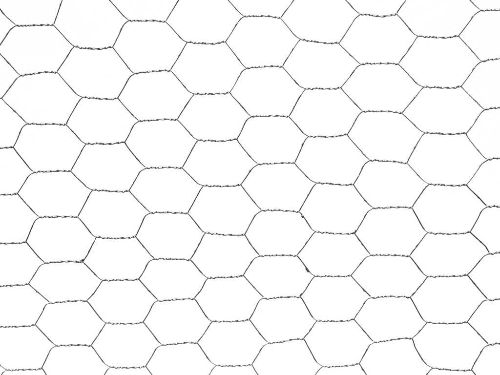 Chovatelské šestihranné pletivo Zn v. 100 cm oka 25 mm cena za bm balení PLOTY | 0,29Kg