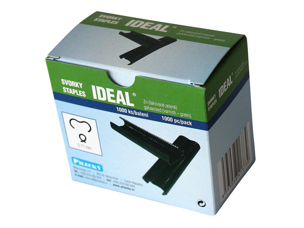 Svorka Ideal poplast- 1000 ks balení PLOTY | 4Kg