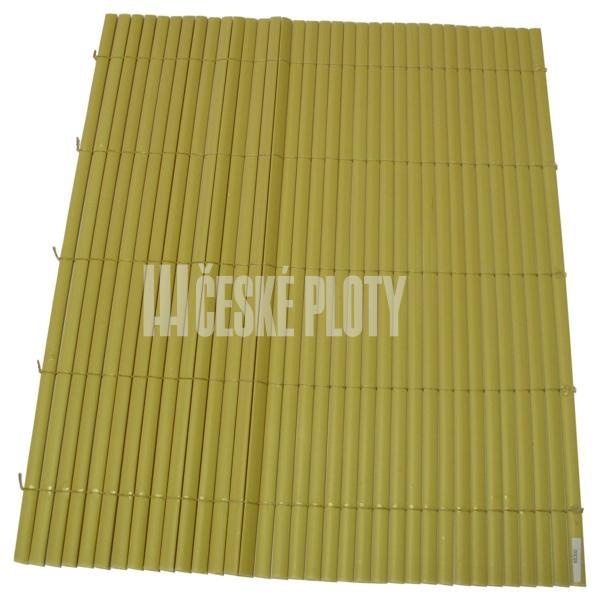 Bambus umělý žlutý mini 7mm, 1,0m/role 3 m 65295