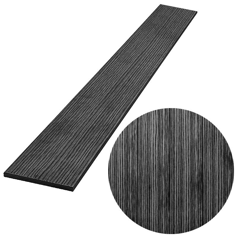 PILLWOOD plotovka 120x11 mm, rovná, Antracit 1000 mm 4Kg