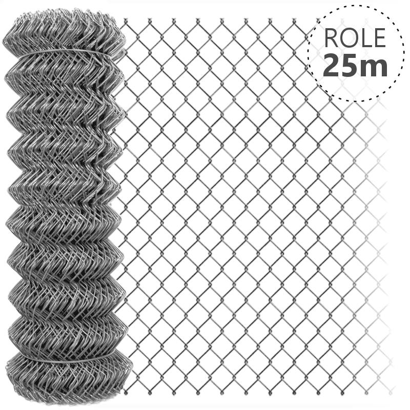Pletivo pozinkované IDEAL 2,0mm/role 25m bez ND, 1000 mm balení PLOTY | 4Kg