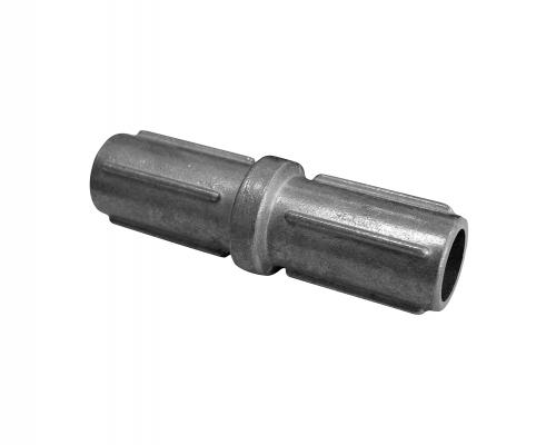 Nástavec pro sloupek 48 mm Stříbrný balení PLOTY | 0,18Kg