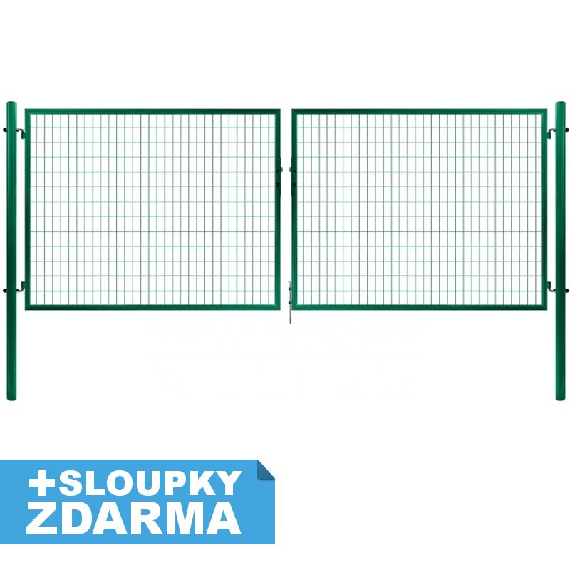 Brána Solid, svařovaná síť 50x100mm, OKO, 3605mm x Výška v mm:: 950 mm