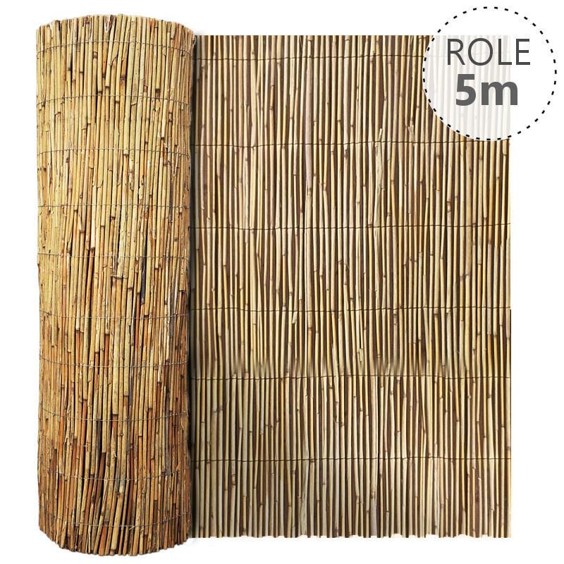 Rohož rákosová v. dle výběru x role 5 m v. 2000 mm balení PLOTY | 4Kg