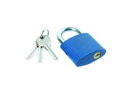 Visací zámek + 3 klíče 25 mm - 23261 4Kg