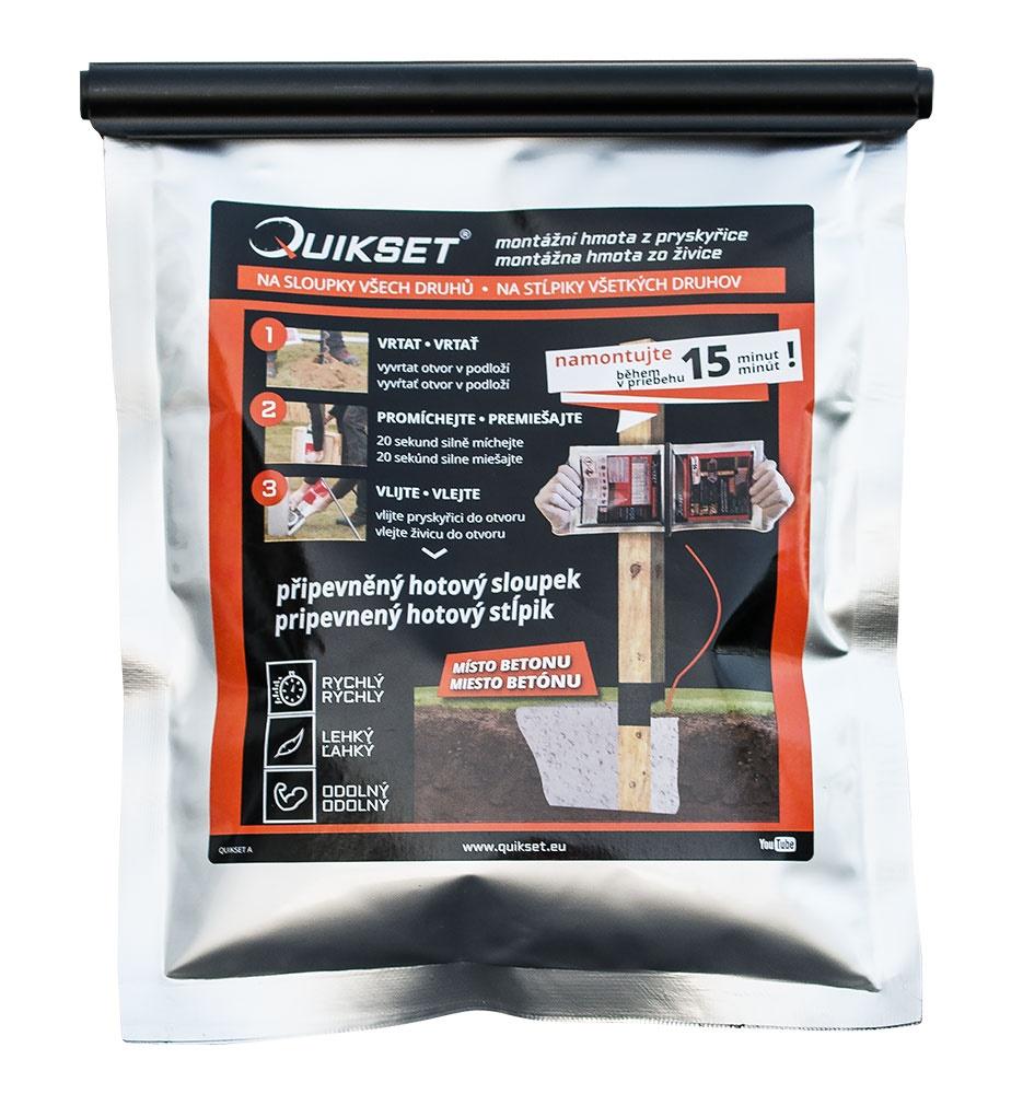Montážní hmota Quikset Q300-300 g balení PLOTY | 0,3Kg
