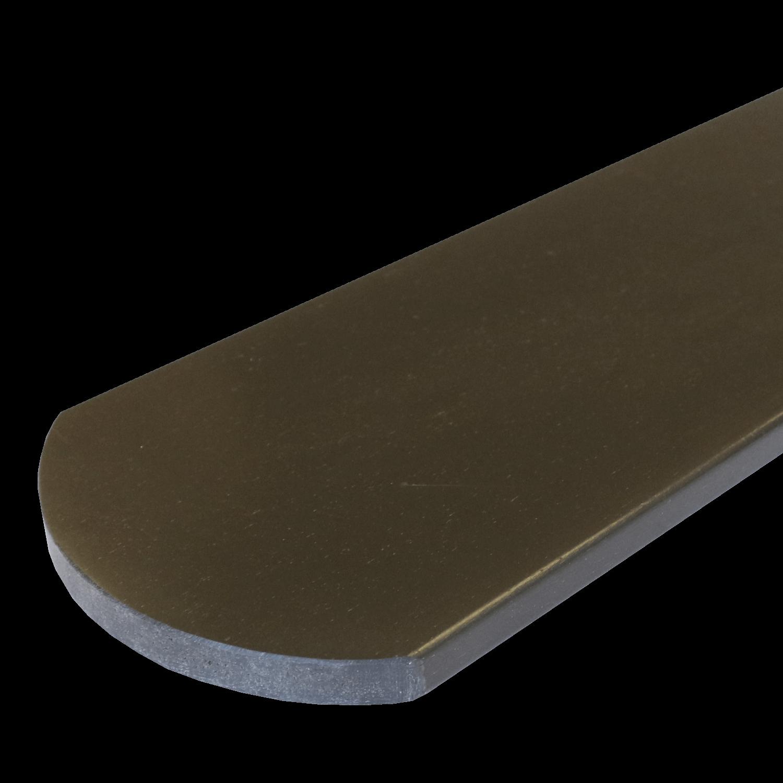 Everwood plotovka 100x15x na míru mm, oblouk Barva: palisandr 4Kg