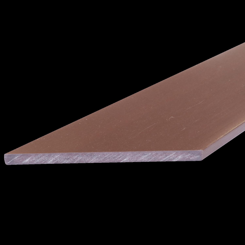 Everwood plotovka 70x10x na míru mm, zkosená Barva: mahagon 4Kg