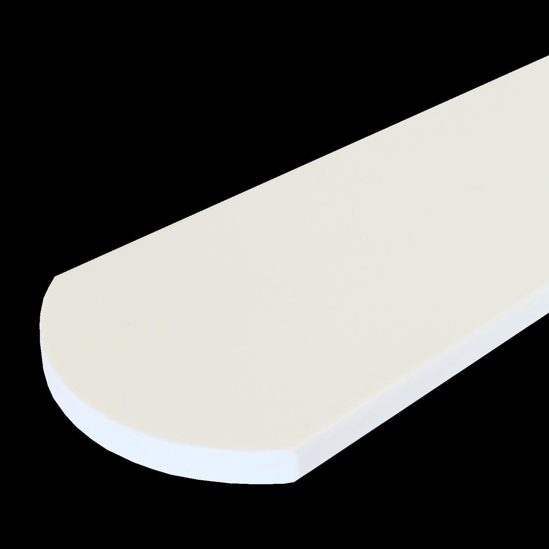 Everwood plotovka 70x20x na míru mm, oblouk Barva: Bílá 4Kg