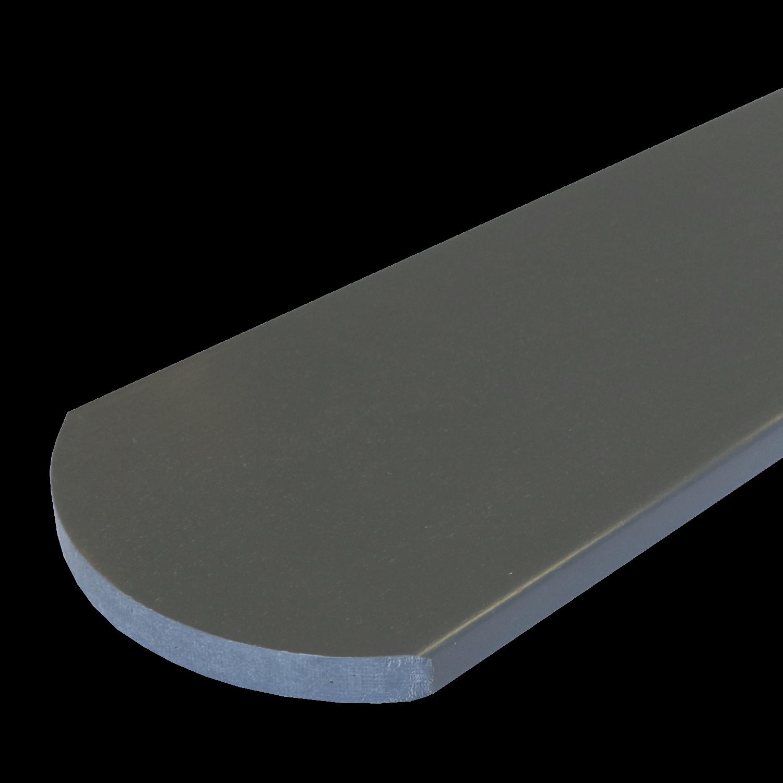 Everwood plotovka 70x20x na míru mm, oblouk Barva: šedá tmavá 4Kg