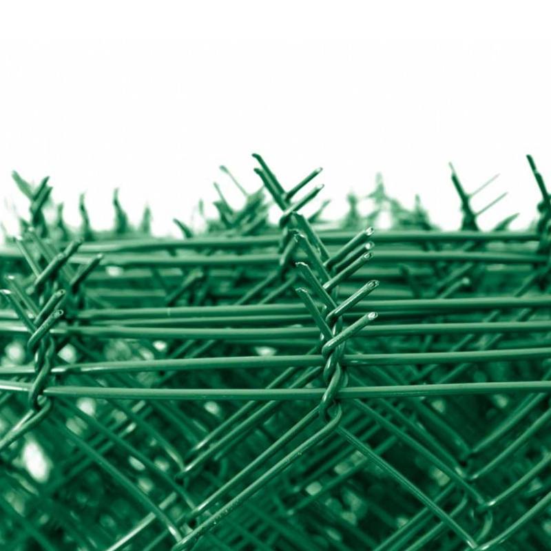 Pletivo Zn+ poplastované IDEAL 1,65/2,5/zelené/role 25m se zapleteným napínacím drátem, výška dle výběru od 1000 do 2000 mm výška v mm: 1000 mm
