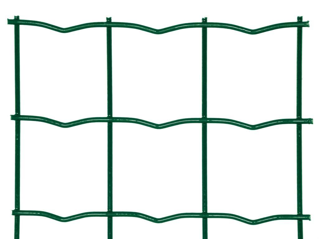 Svařované pletivo Pilonet Super Strong ZN+PVC, oko 50 x 50mm, síla drátu 3,5mm, role 20m, barva zelená, výška dle výběru výška v mm: 2000 mm