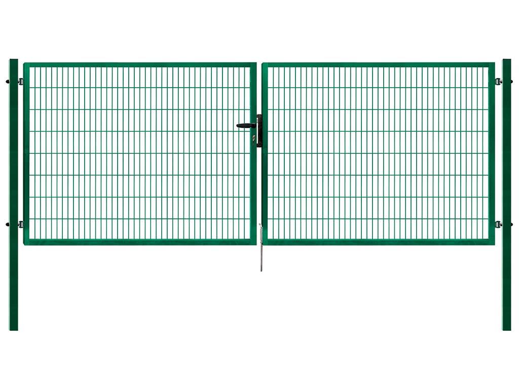 Brána Pilofor Super š. 4110mm, svařovaný panel 50x200mm, FAB v. 1980 mm 4Kg