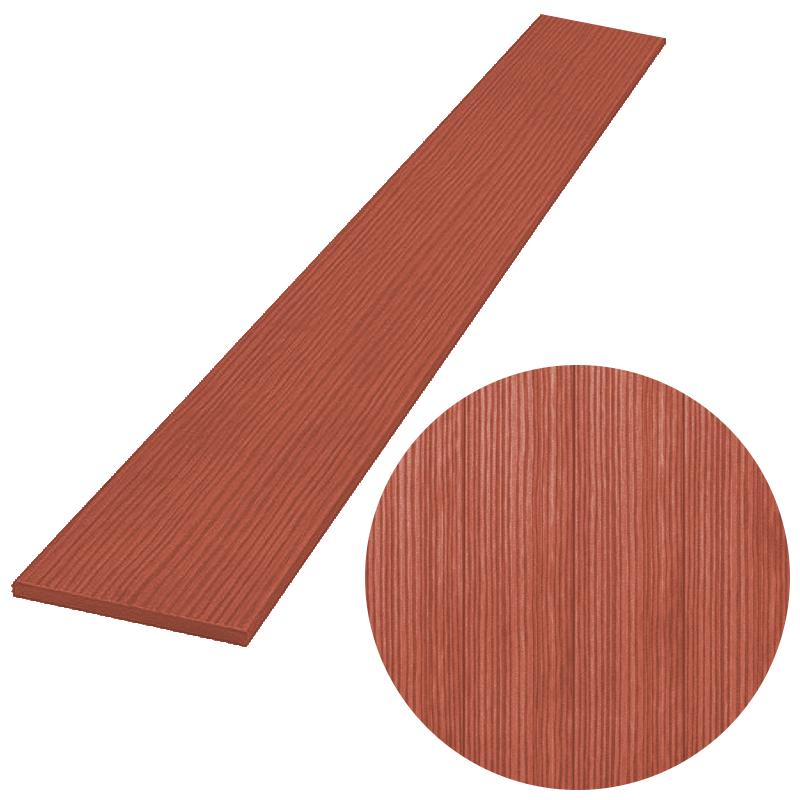 Plotovka PILWOOD - šířka 120 x síla 11 mm v různých délkách, barva ČERVENOHNÉDÁ výška: 1200 mm