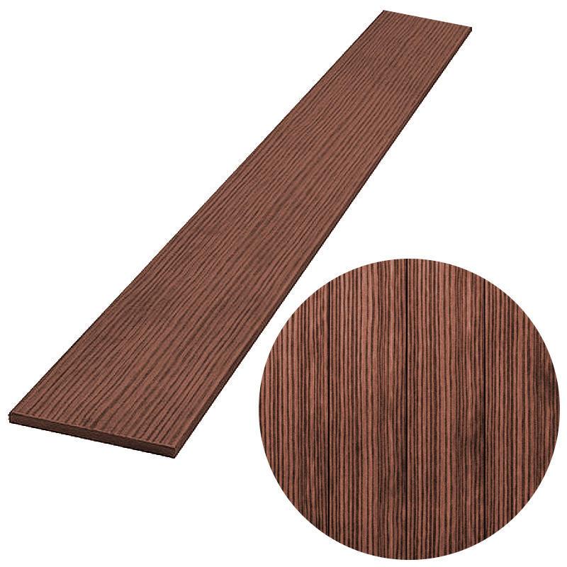 PILLWOOD plotovka 90x15 mm, rovná, hnědá výška: 1200 mm
