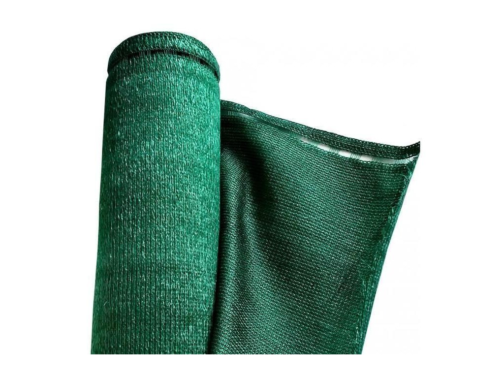 Stínící tkanina 92% - 180 g/m2 - výška dle výběru, role 25 m, barva zelená Výška stínicích tkanin: 150 cm