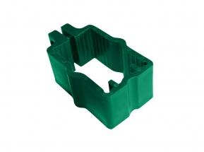 Objímka na panely Pilofor pro sloupek 60x40 mm PVC Zelená