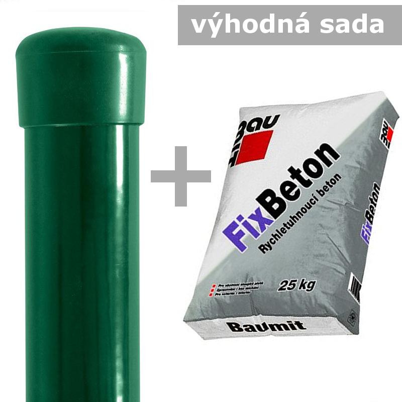 Sada Sloupek 48/1,5/ + FIXBETON 25kg Délka v mm:: 1800