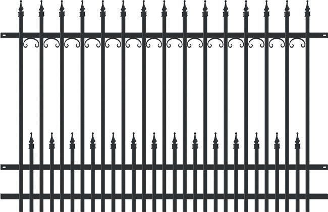 YORK plotové pole, š. 2000 v. 1600 mm 4Kg